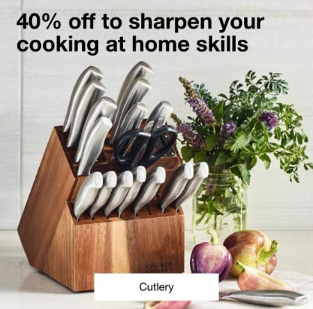 40% Off Cutlery from macy's