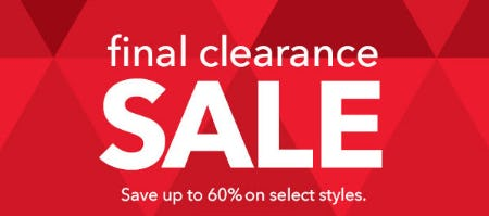 Up to 60% Off Final Clearance Sale from Johnston & Murphy