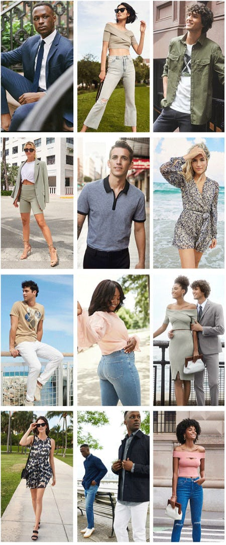 New Arrivals Are Here and They're Hot from Express