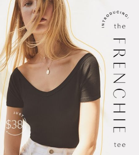 Introducing The Frenchie Tee from Free People