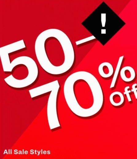 50–70% Off All Sale Styles from Call It Spring