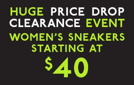 Women's Sneakers Starting at $40