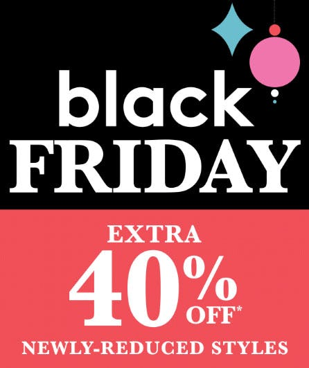 Extra 40% Off Black Friday Sale from Lord & Taylor