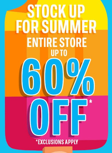 Entire Store up to 60% Off from The Children's Place Gymboree