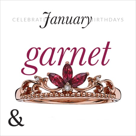 January Birthstone Jewelry Sale 30% OFF from Ashcroft & Oak Jewelers