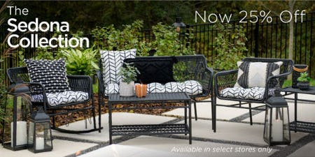 25% Off The Sedona Collection
