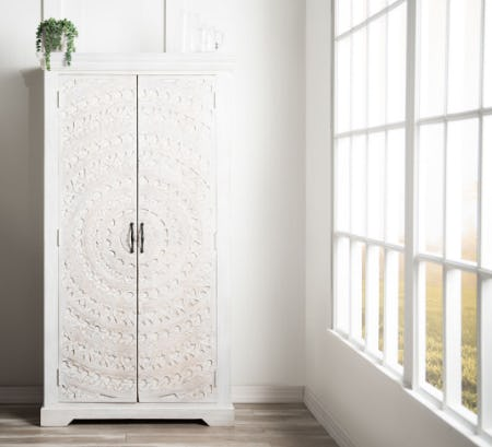 The Boho Chic Wine Cabinet​ from Bob's Discount Furniture
