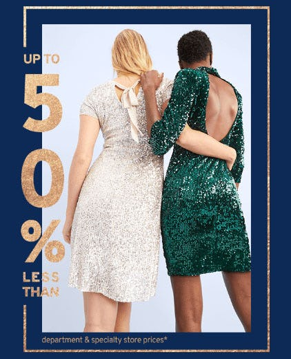 Up to 50% Off Dresses from Marshalls