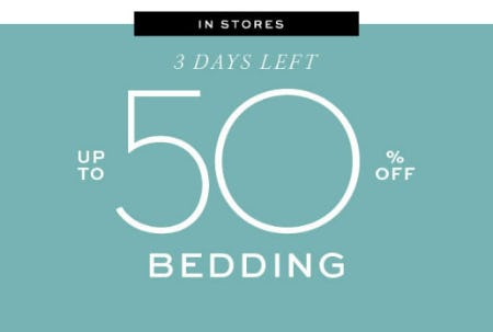 Up to 50% Off Bedding from Pottery Barn