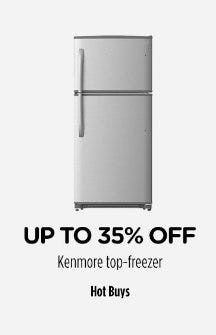 Up to 35% Off Kenmore Top-freezer