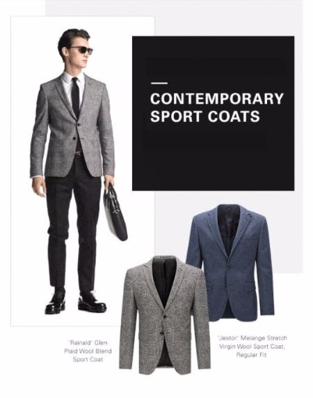 Your Fall Sport Coat