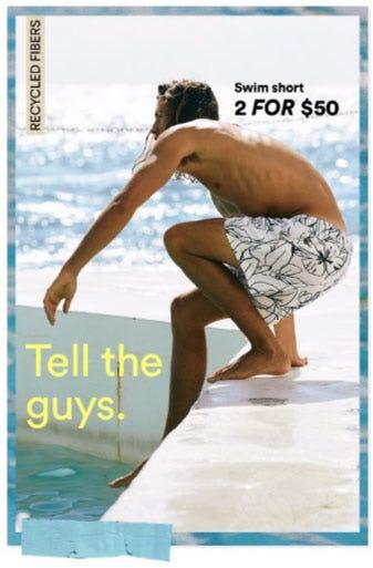 Swim Short 2 for $50
