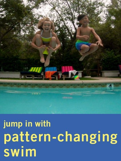 New: Pattern-Changing Swim from abercrombie