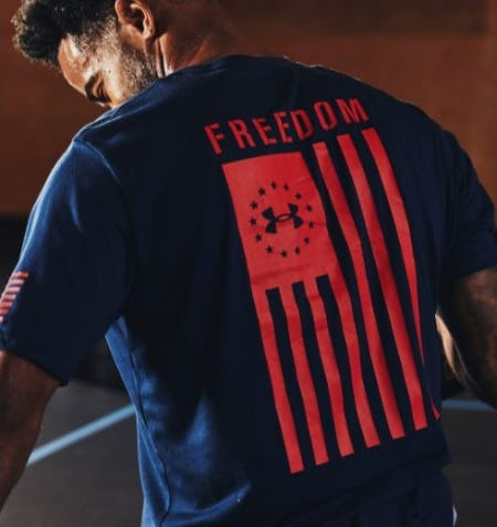 The 2021 UA Stars and Stripes Collection from Under Armour