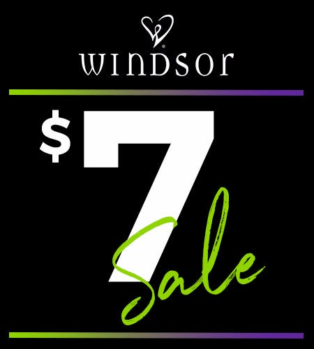 THE $7 SALE!