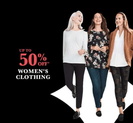 Up to 50% Off Women's Clothing from Lord & Taylor