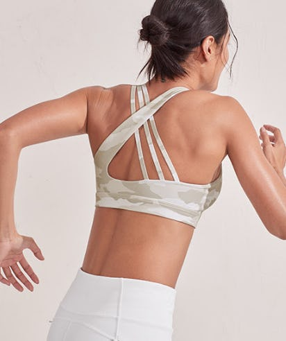 Run Free Camo Bra from Athleta