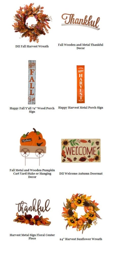Harvest your Style with Our Fall Decor from Pier 1 Imports