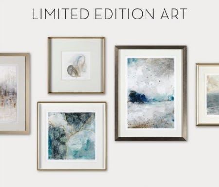Limited-Edition Art from Z Gallerie