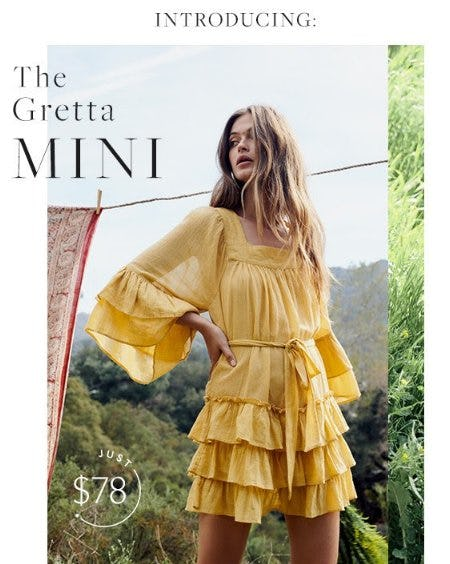 Introducing The Gretta MINI from Free People