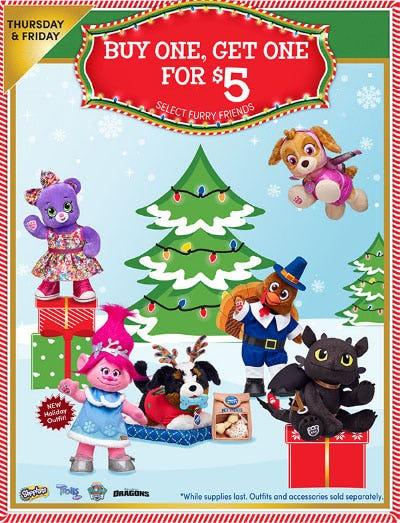 BOGO $5 Select Furry Friends