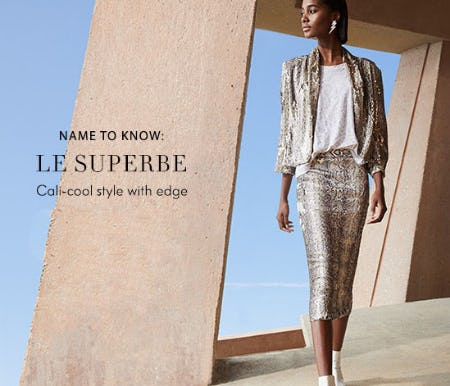 Name To Know: Le Superbe from Neiman Marcus