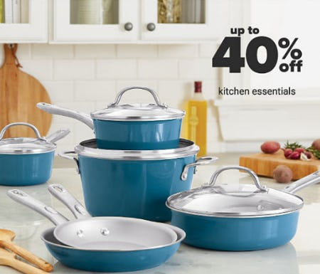 Up to 40% Off Kitchen Essentials