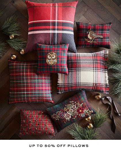 Up to 50% Off Pillows from Pottery Barn