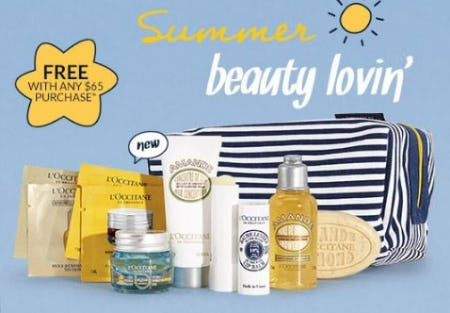 Glowing Skin Gift Free With Any $65 Purchase from L'Occitane