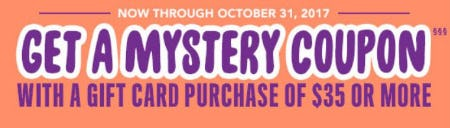 Get a Mystery Coupon