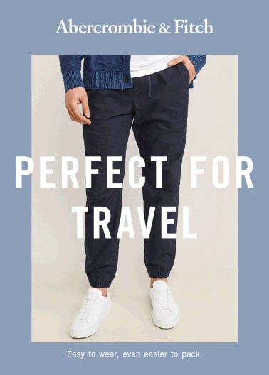 Perfect For Travel from Abercrombie & Fitch