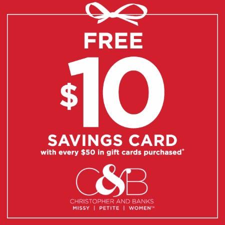 Free $10*