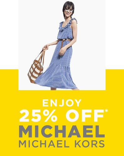 5b6de7d405a3 25% Off Michael Michael Kors from Lord   Taylor