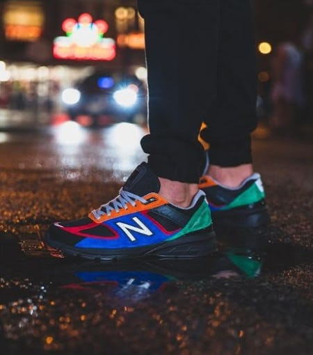 New Balance 990v5 '4 for 4' from DTLR