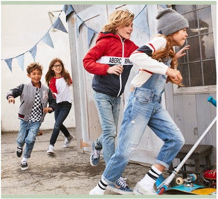 Shop New Jeans from Abercrombie Kids