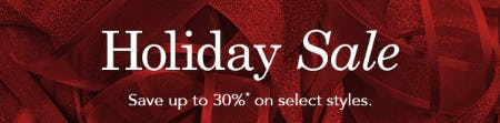 Save Up to 30% Holiday Sale from JOHNSTON & MURPHY