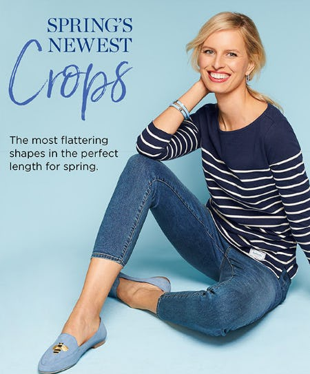 Spring's Newest Crops from Talbots Woman