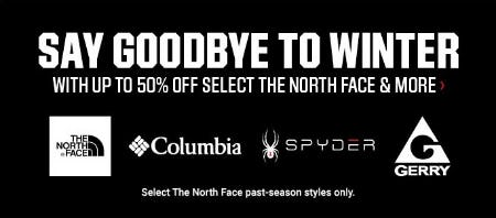 Up to 50% Off Select The North Face & More from Dick's Sporting Goods