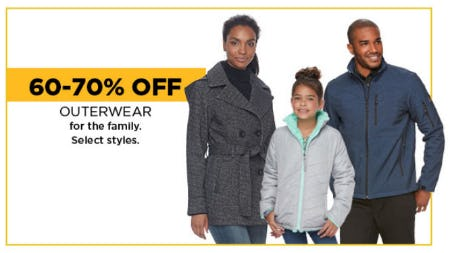 60-70% Off Outerwear