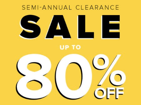 Semi Annual Clearance Up to 80% Off from Fashion To Figure