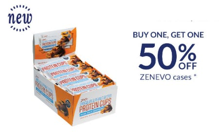 BOGO 50% Off Zenevo Cases from The Vitamin Shoppe