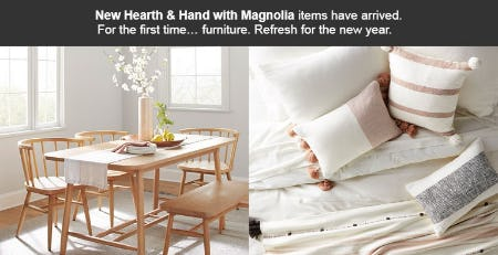 New Hearth & Hand with Magnolia Items Have Arrived from Target