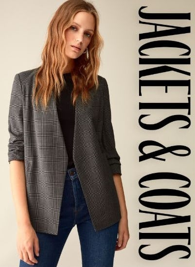 Don't Forget your Jackets & Coats from Aritzia
