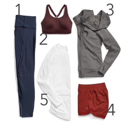 Our Must-Have Performance Pieces this Season from Athleta