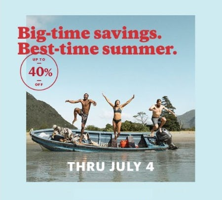 4th of July Sale & Clearance up to 40% Off from REI