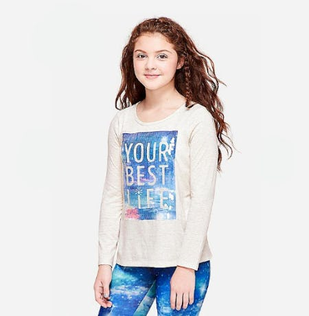 Flip Sequin Graphic Tee from Justice