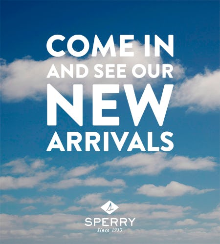 New Arrivals are IN! from Sperry Top-Sider