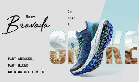 Introducing Bravada: Part Sneaker, Part Hiker from Merrell
