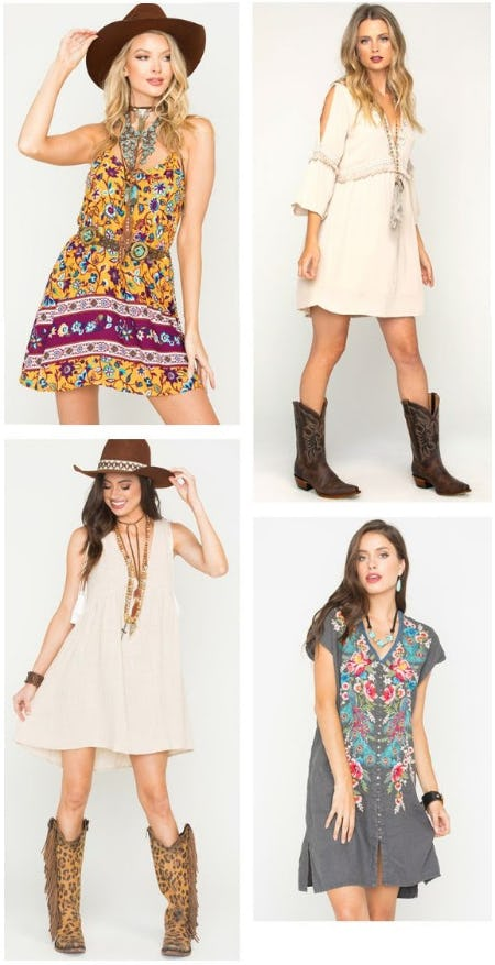 Picture-Perfect Dresses Are Here from Boot Barn Western And Work Wear