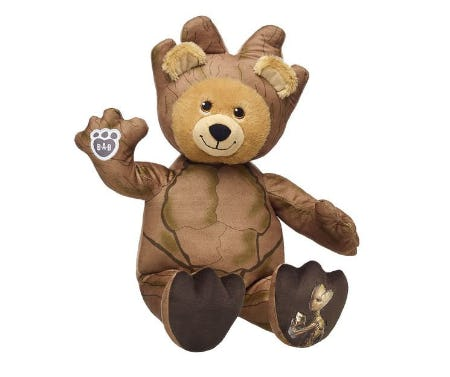 Teenage Groot Bear from Build-A-Bear Workshop